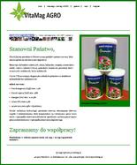Strona WWW nawozu vitamag.pl